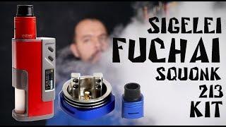 sigelei Fuchai Squonk 213 150W TC Kit  Детальный обзор