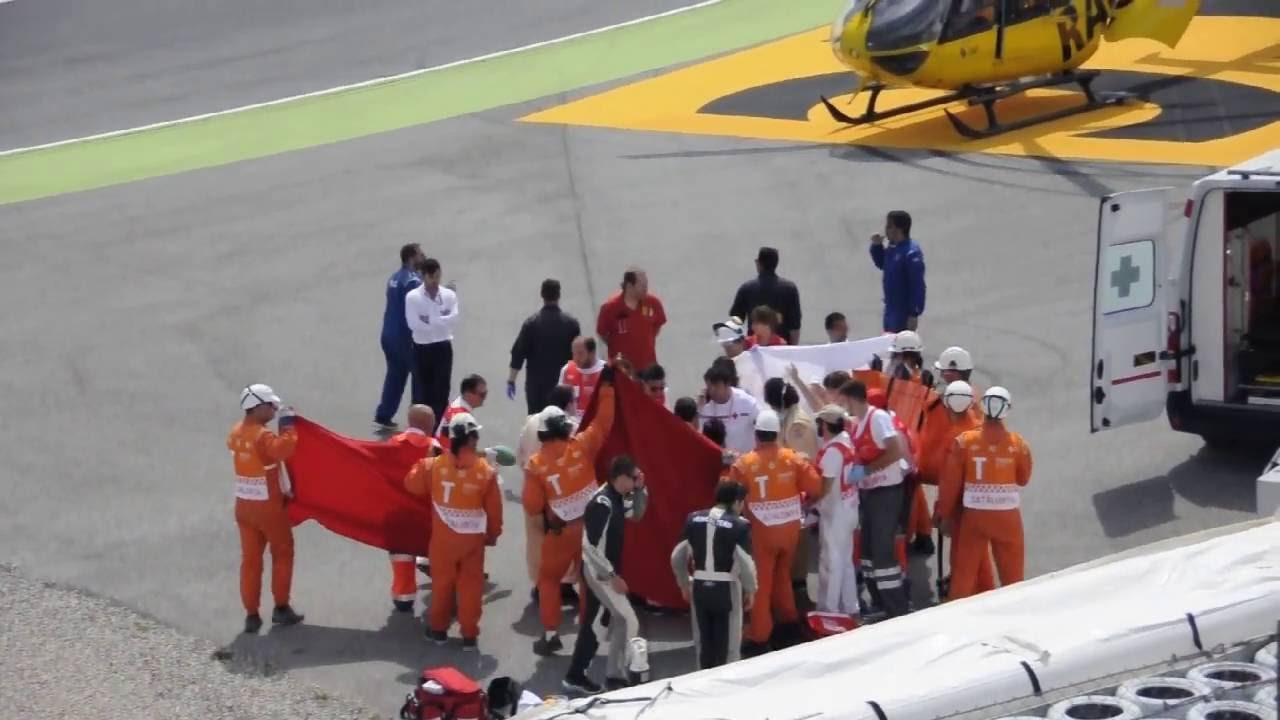 Circuito Montmelo : Luis salom accidente montmelo circuito de catalunya youtube