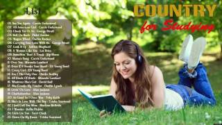 Best Country Songs For Studying - Relaxing Country Music for Studying and Concentration