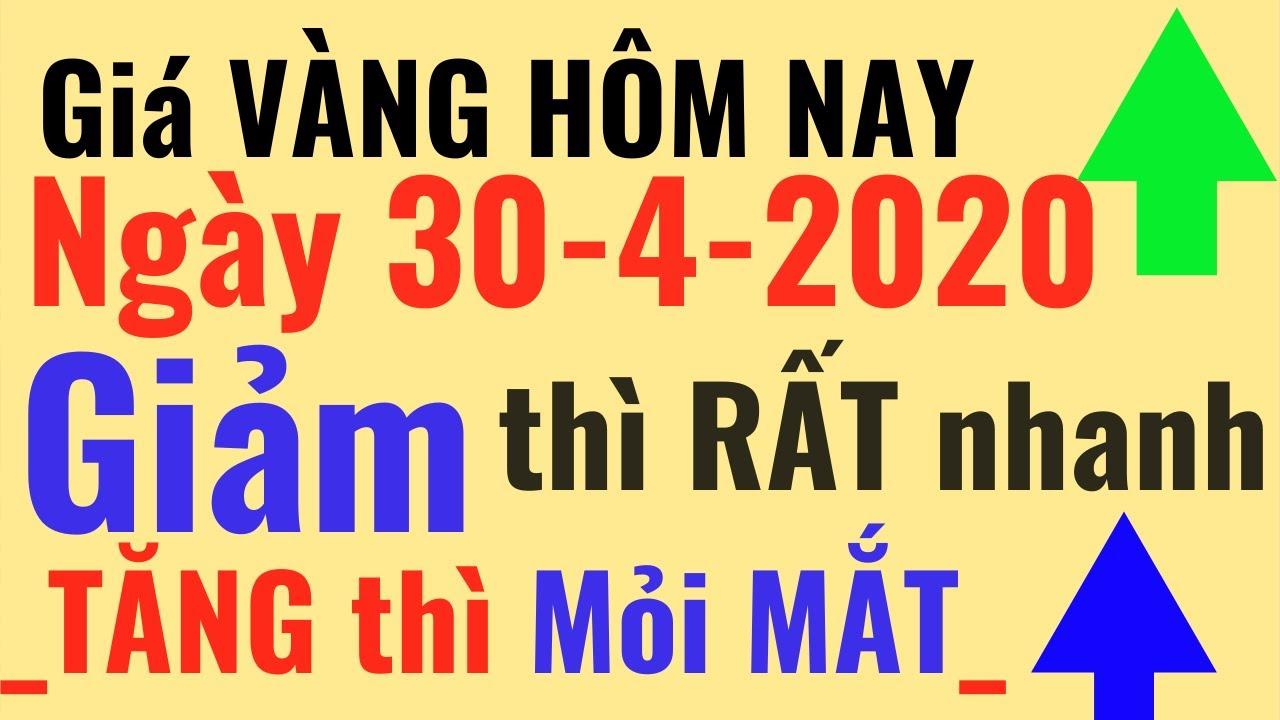 Giá VÀNG hôm nay 30/4 GIẢM thì nhanh. Bảo Tín Minh Châu SJC Ý Mi Hồng 9999 24k PNJ online trực tuyến