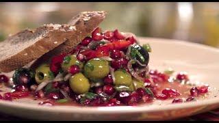 САЛАТ С ТРАВАМИ И ГРАНАТОМ | Кухня Великолепного века