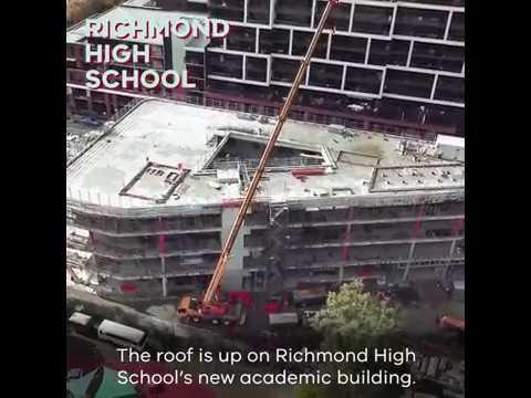 Richmond High School soon to get new academic building