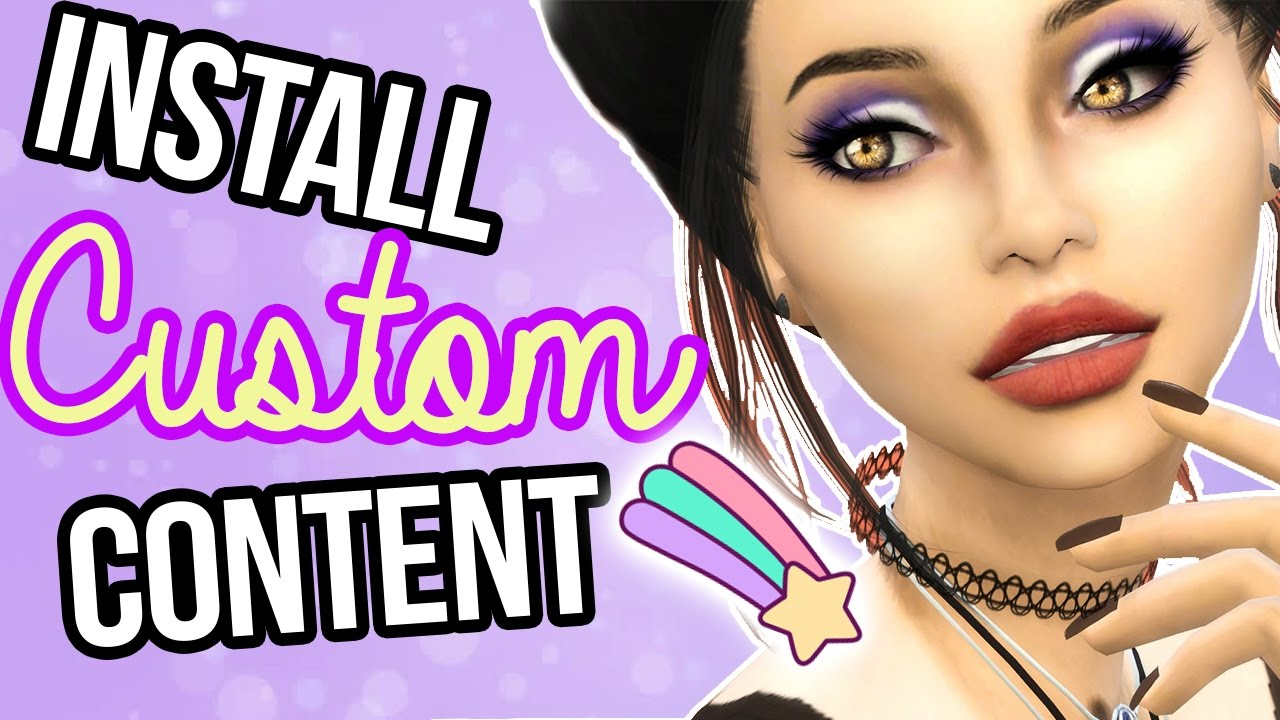 Remove custom content! || sims 4 ~ tutorials youtube.