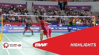 Download Video VICTOR KOREA OPEN 2018 | Badminton MS - F - Highlights | BWF 2018 MP3 3GP MP4