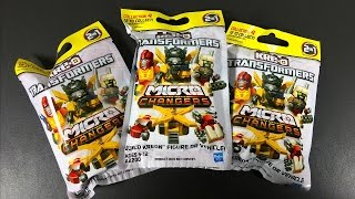 MYSTERY BUILD! Kre-o Transformers Micro Changers Blind Bag Opening and FREE BUILD!  [Collection 4]