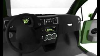 Vehículo eléctrico Salamandra Tri0