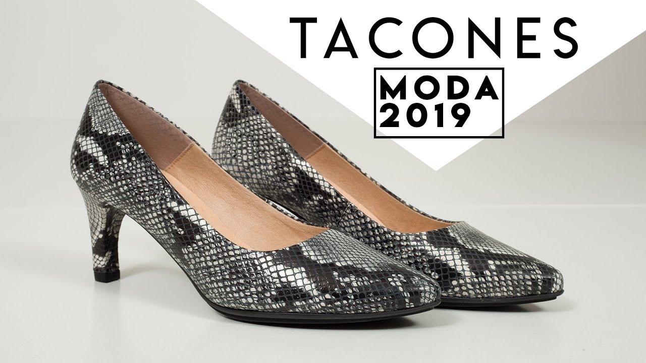 3cca97ac TOP 10 TACONES 2019 Mujer 🌸 Catálogo Zapatos de TACÓN 2019 🌸 - YouTube