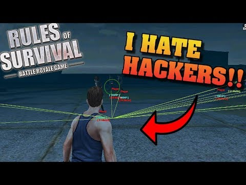 Hartzy DESTROYS hackers! (Rules of Survival #56)