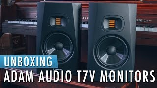 ADAM Audio T7V - Unboxing & First Look