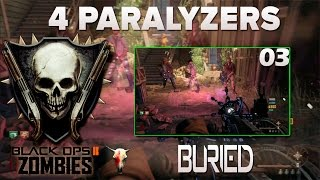COD BO2 - ZOMBIES / BURIED 03- 4 paralizers (BUG/Glitch) PtBr