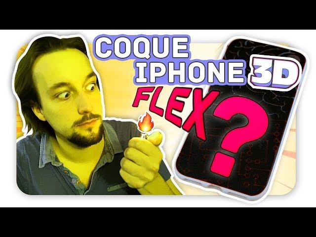 Coque iPhone FLEXIBLE en 3D !!! CrashTest