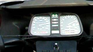 BMW k 100 RT max speed 220 km /h