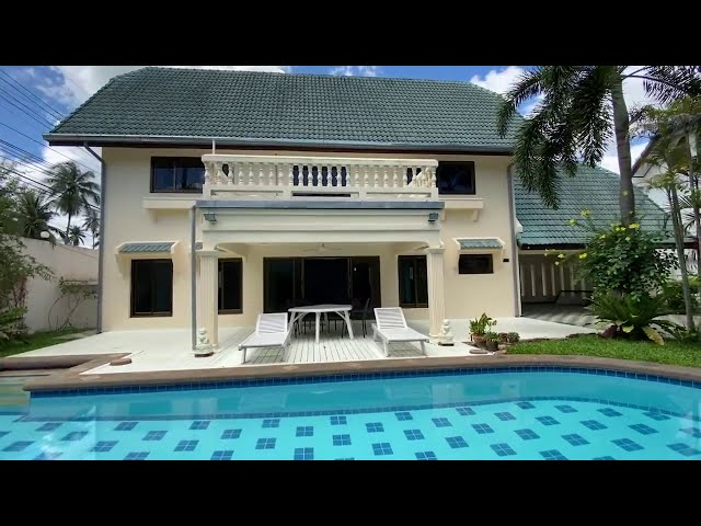 HOUSE FOR RENT: 3 bed 2.5 bath, Minutes away from PATTAYA CITY