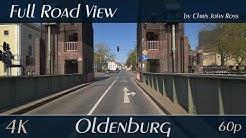 Oldenburg, Germany: Bremer Straße, Damm - 4K (2160p/60p) Ultra HD