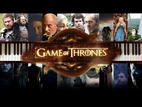 Game of Thrones Season 1 to 7 Piano Medley - 22 songs - Hundred subs special !