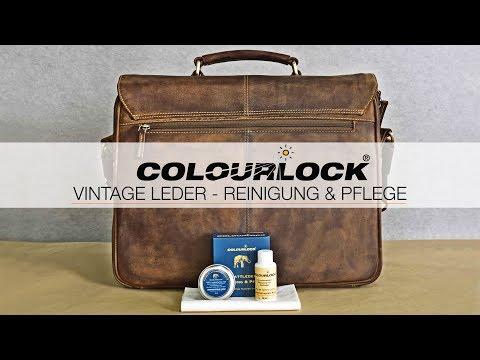 reinigung lederpflege vintage leder taschen stamp3. Black Bedroom Furniture Sets. Home Design Ideas