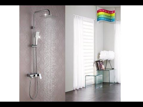 Тип, верхний душ. В комплекте, верхний душ, штанга, смеситель, душевой шланг. Ширина/диаметр верхней лейки, 15 см. Режимы верхней лейки, 1.