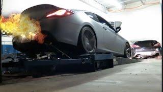 tuning 3 8 gdi v6 turbo genesis coupe w tomei titanium exhaust