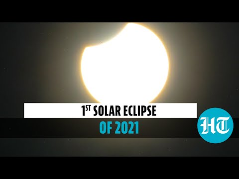 Watch: Annular solar eclipse viewed by countries in northern hemisphere