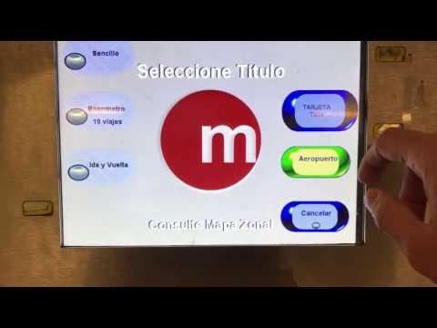 Metro Valencia - Como comprar tickets
