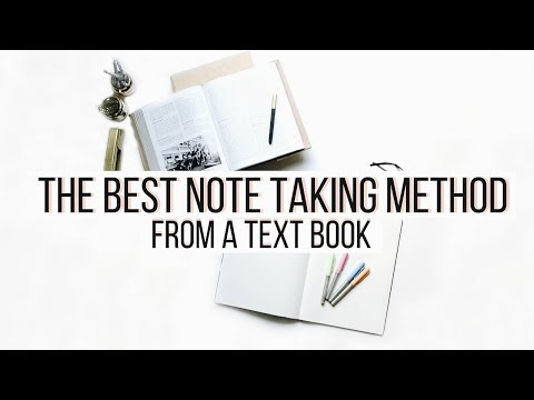 The BEST NOTE TAKING Method From a TEXT BOOK | Organize Your Notes | Color Coding