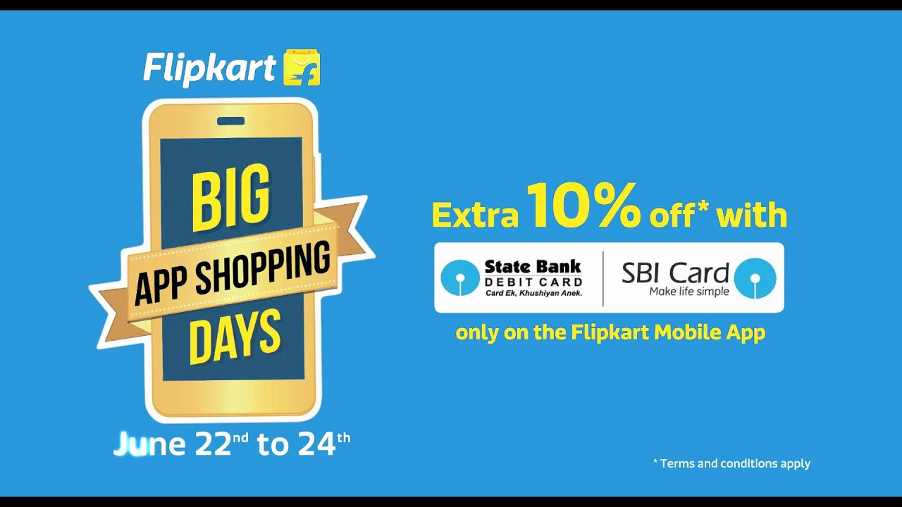 Flipkart Big App Shopping Days 22 24 June   Home Décor Offers