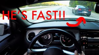 Roll Racing a 2018 Mustang 5.0