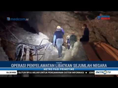 Dramatis, Begini Penyelamatan 13 Orang yang Terjebak dalam Gua
