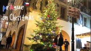 [초이로그 🇬🇧] 아기자기 예쁜 프라하 크리스마스 마켓✨🎄ㅣ모든 유럽 크리스마스 마켓 정복이 꿈이야,,,🌟ㅣ(프라하 한인 맛집, 까를교, 프라하성, 천문시계탑 전망대) thumbnail