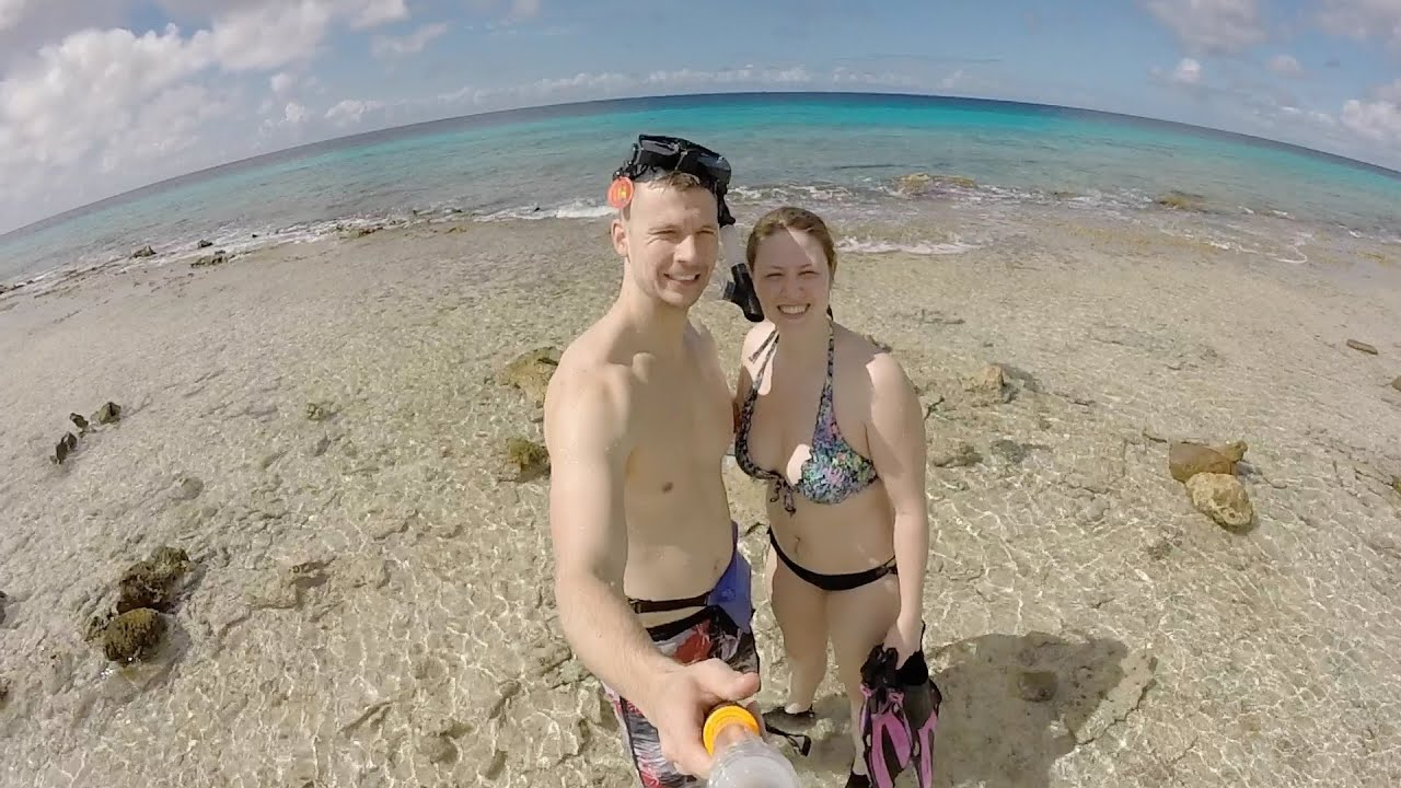 TOPLESS BEACH  Bonaire Day 2  YouTube