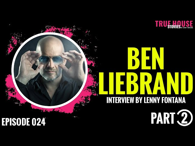 Ben Liebrand [Grandmix] interviewed by Lenny Fontana for True House Stories # 024 (Part 2)