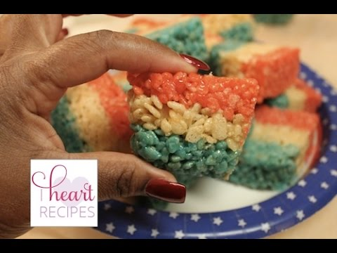 Rice Krispies Treats Recipe : Fourth Of July