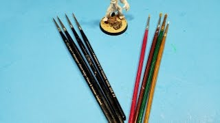 Hobby 101 Brush Selection