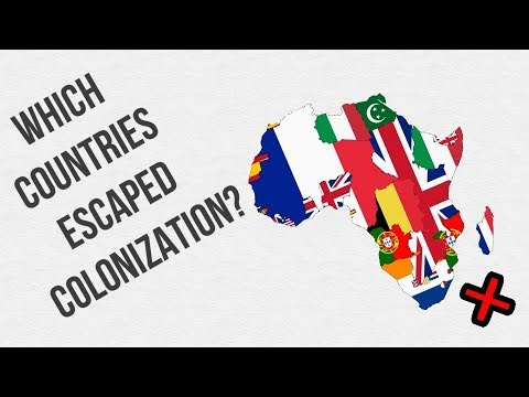 Which Countries Escaped European Colonization (and How?)