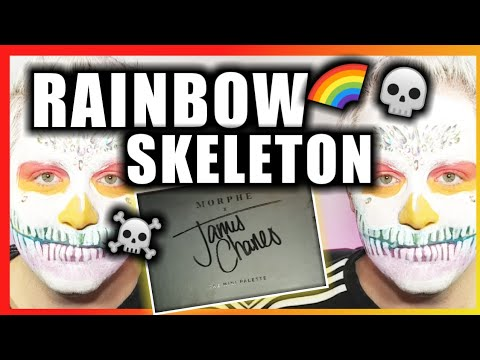 MINI James Charles Palette - Rainbow Skeleton Makeup thumbnail