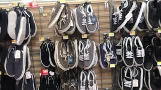 Шмотки для бедных в США Волмарт всему голова 06.17 Walmart Orlando цены в Америке