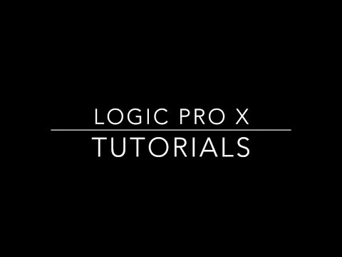 Logic Pro X - How To Change The Tempo Of Audio