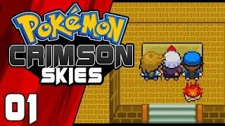 Pokemon Crimson Skies Fan Game Part 1 - Crimson Crystal Gameplay Walkthrough