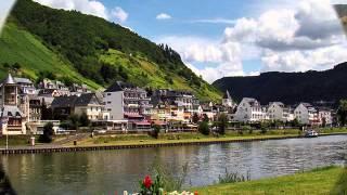 Voyage le long de la Moselle