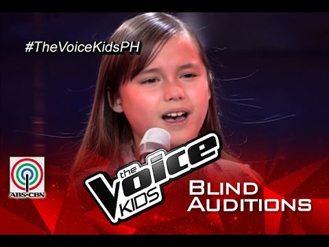 """The Voice Kids Philippines 2015 Blind Audition: """"Skyscraper"""" by Stephanie"""