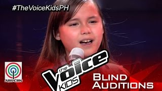 "The Voice Kids Philippines 2015 Blind Audition: ""Skyscraper"" by Stephanie"
