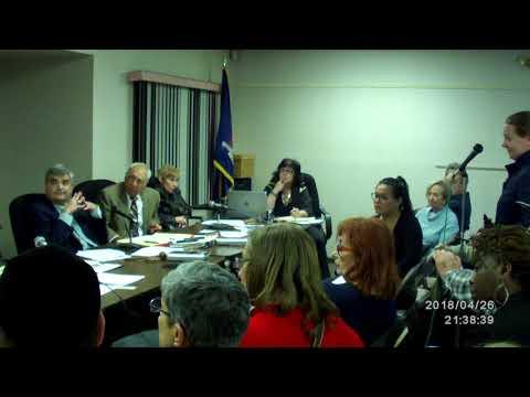 Chestnut Ridge Village board meeting 4/26/18 pt5