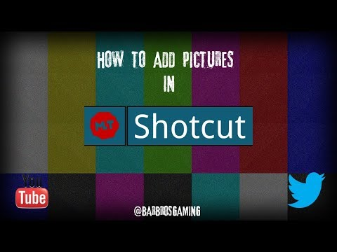 Shotcut: How to Add Pictures