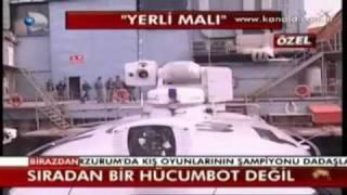 120 km Hiza Cikabilen Turk Botlari-Onuk MRTP 16 İntervention Craft