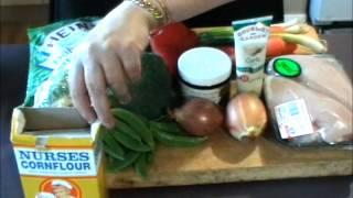Chicken Stir-fry - The Aussie Way - Video Recipe