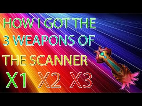 Order And Chaos Online - How I Got The 3 Weapons Of The Scanner