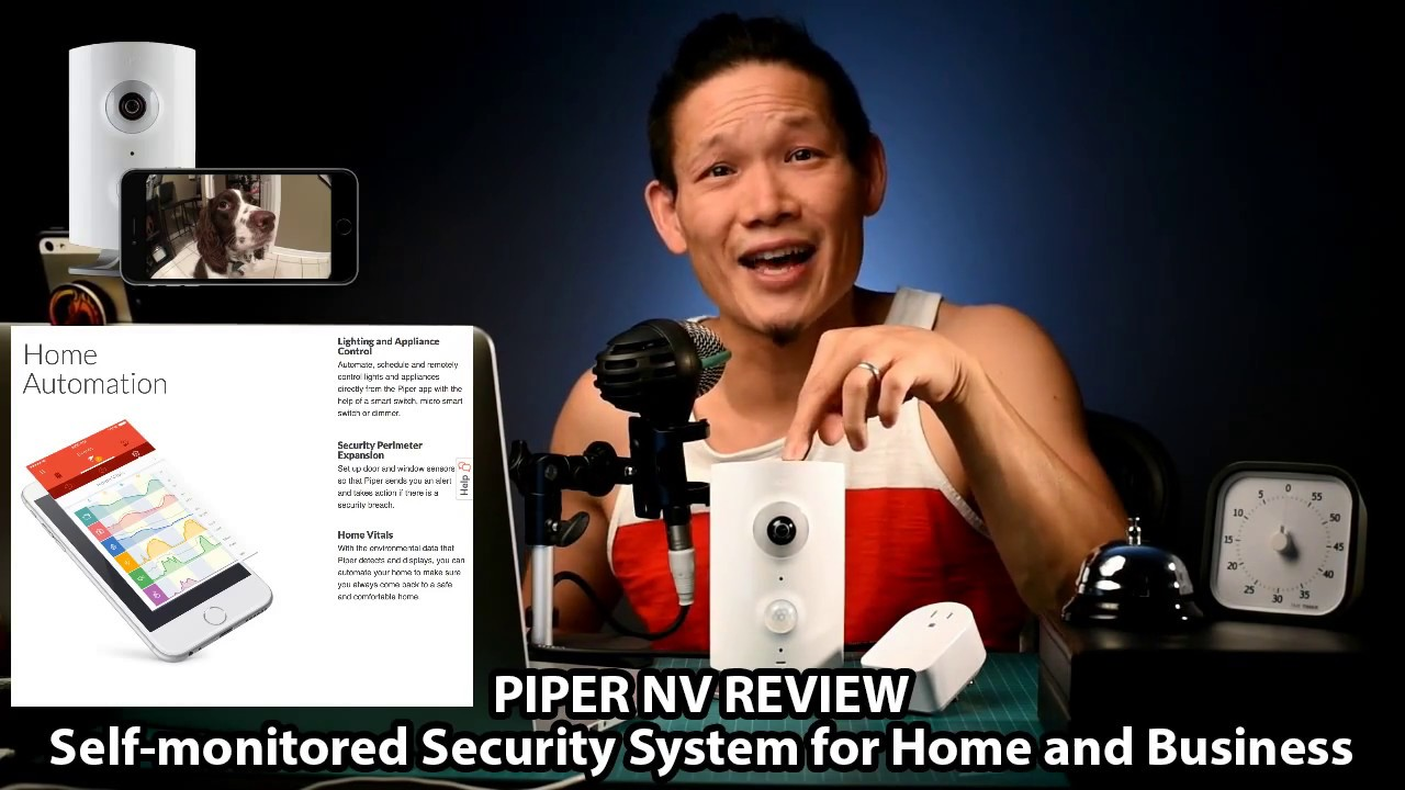 piper nv review the best self monitored security system for home and business youtube. Black Bedroom Furniture Sets. Home Design Ideas