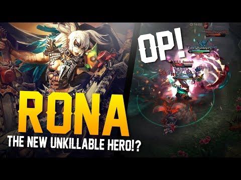 Vainglory - Road to Vainglorious [Gold]: NEW OP HERO!? Rona |WP| Lane Gameplay
