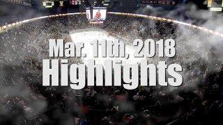 HIGHLIGHTS - Mar. 11th, 2018