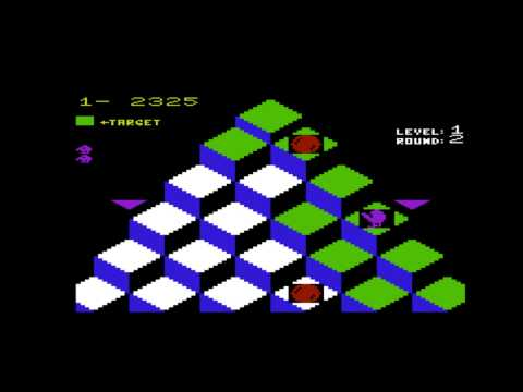 Q*bert for the Commodore VIC-20 / Commodore VC-20
